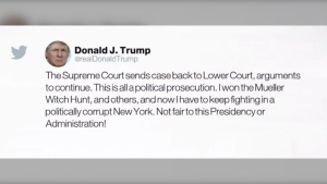 Trump responds to ruling