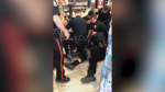 Jamie-Dean Sauter has filed a complaint to the Edmonton Police Service's Professional Standards Branch regarding his arrest in a Circle K at 116 Street and 104 Avenue on May 14, part of which was recorded by a store customer. (Credit: Joshua Powell)
