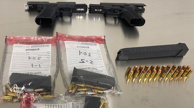 Traffic stop leads to 40 drug and weapons charges in Barrie