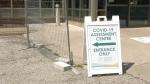 Windsor Regional Hospital COVID-19 Assessment Centre in Windsor Ont., on Thursday, July 9, 2020. (Sijia Liu / CTV Windsor)