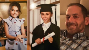 Romy Carpentier and Norah Carpentier are missing along with their father Martin Carpentier