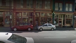 The Carne Tattoo shop on Victoria's Johnson Street is pictured in this undated Google Maps image. (Google Maps)