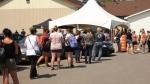 Hundreds take COVID-19 test in Mercier