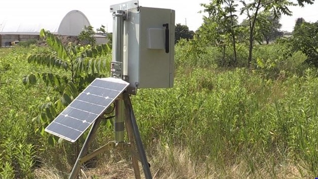 Electronic monitoring stations in London, Ont. on July 9, 2020. (Daryl Newcombe/CTV London)