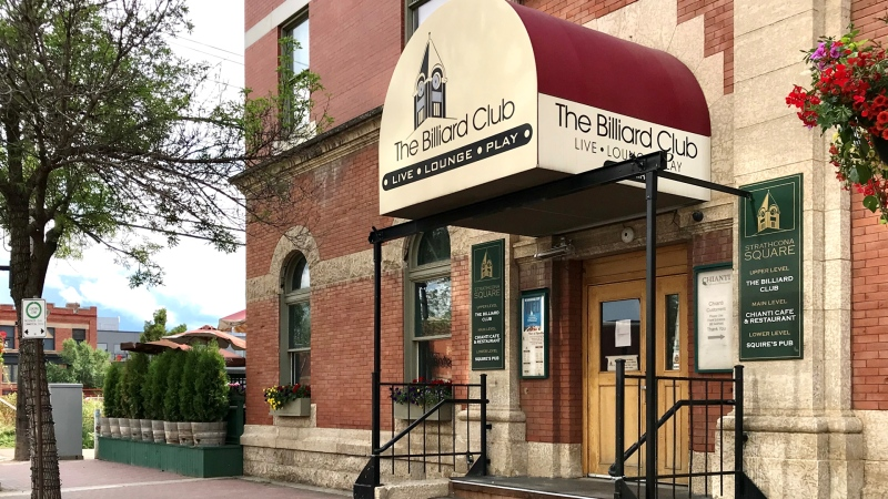 The Billiard Club. (Sean Amato/CTV News Edmonton)