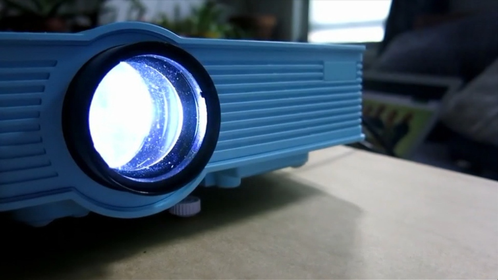 A mini projector can turn your home into a theatre