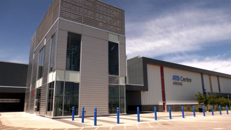 The ATBCentre in west Lethbridge is the first ice rink to reopen since the pandemic started.
