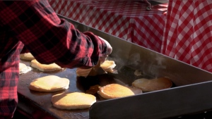 Southcentre Mall is hosting Friday morning's drive-thru Stampede breakfast