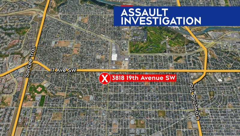 A man was transported to hospital in critical, life-threatening condition following a Thursday night assault in the community of Glendale