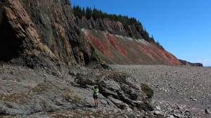 The Cliffs of Fundy in Nova Scotia has been designated a Global Geopark by the United Nations Educational, Scientific and Cultural Organization. (Cliffs of Fundy Geopark/Facebook)