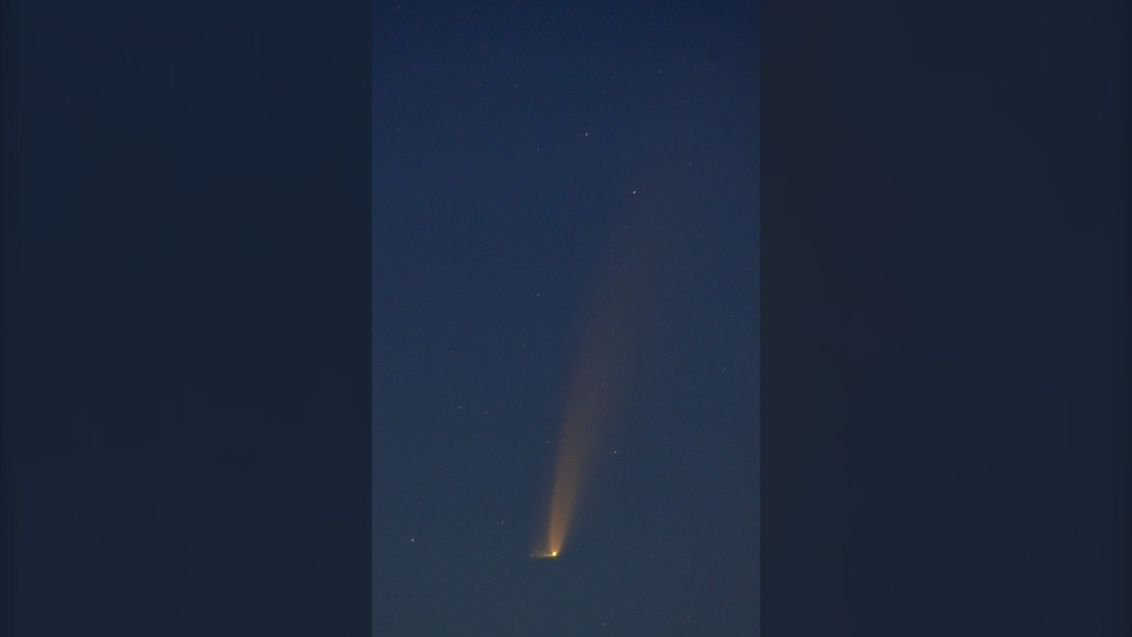 Neowise comet and rare astronomical phenomena captured in remarkable image
