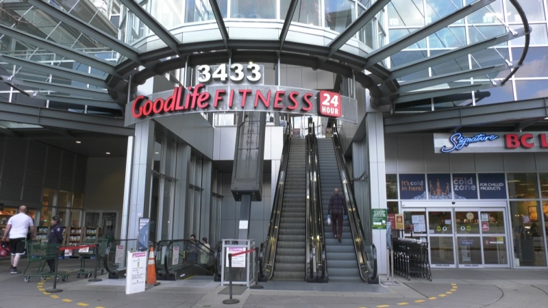 GoodLife Fitness in Burnaby.