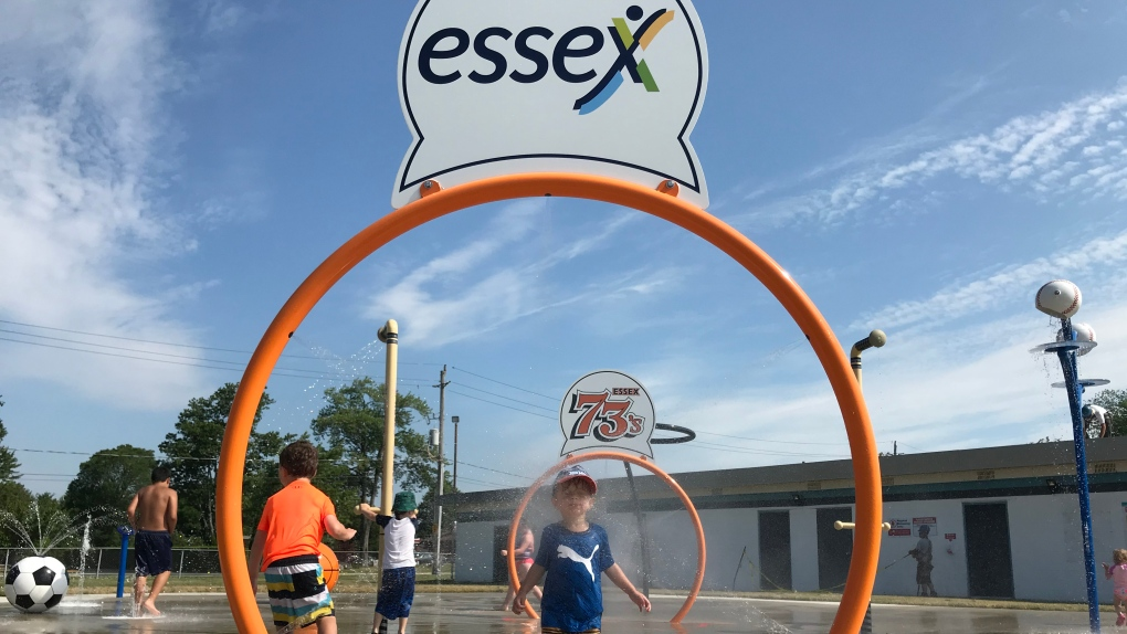 Essex splash pads