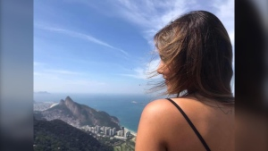 Guilia Hallais, a student from Brazil, fell victim to scammers in Calgary.