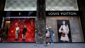 Louis Vuitton is taking its men's fashion collections on the road. (AFP)