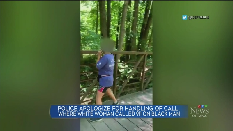 White woman calls 911 on black man in park
