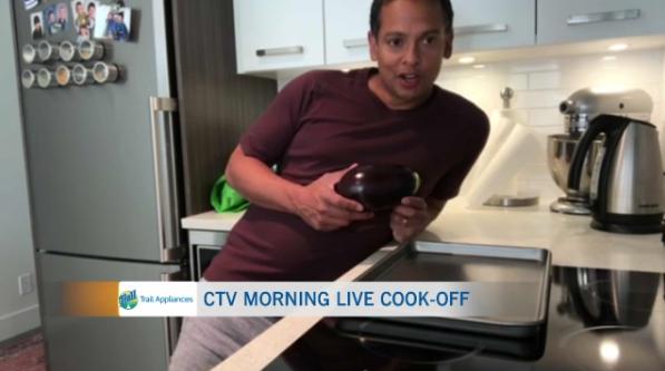 Jason cooks, baba ghanouj