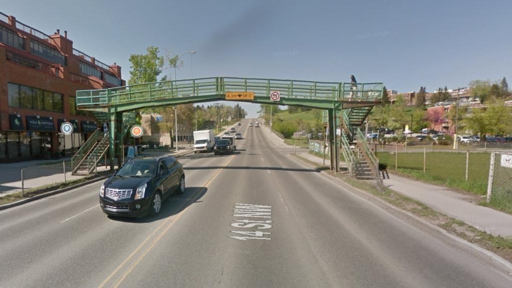 14th Street pestrian bridge Calgary