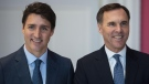 Trudeau, Morneau
