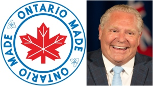 The province has launched a new program aimed at supporting locally-made products as Ontario begins to restart its economy. (The Government of Ontario and The Canadian Press/Frank Gunn)