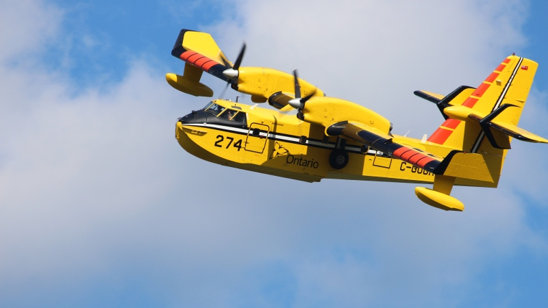 Ontario waterbomber CL415 (Ministry of Natural Resources and Forestry)