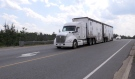 Ontario Provincial Police say they are seeing the highest number of commercial vehicle crashes in more than 20 years and attribute most of the crashes to speed and distraction. (Eric Taschner/CTV News)