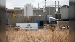 The Cargill beef plant is shown in High River Alta., on Thursday, April 23, 2020. (Jeff McIntosh/The Canadian Press)