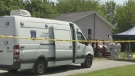 Forensics team scours site for evidence