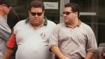 Pat Musitano is seen on the left and his brother Angelo Musitano is seen on the right of this photo. (PHOTO: Hamilton Spectator)
