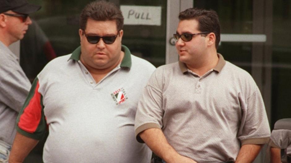 Pat Musitano is seen on the left and his brother Angelo Musitano is seen on the right of this photo. (PHOTO: Hamilton Spectator)