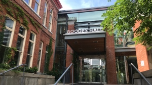 Goodes Hall at Queen's University, home of the Smith School of Business.
