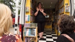 Daisy Chain Book Co., a book store on wheels, has been providing reading material for Albertans to offer a unique book-shopping experience. July 10, 2020. (CTV News Edmonton)