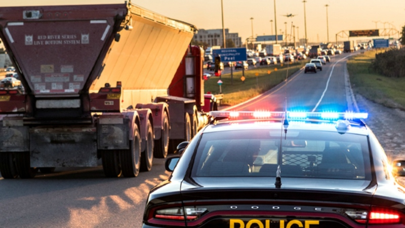 An enforcement blitz by members of the Ontario Provincial Police in the areas around Sudbury and North Bay issued 183 speeding tickets in nine days, police said in a news release Friday. (Supplied)