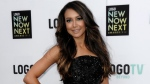 Actress Naya Rivera arrives at Logo's NewNowNext Awards in Los Angeles on April 13, 2013. (Photo by Dan Steinberg/Invision/AP, File)