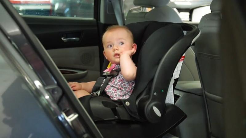 Heatstroke danger for kids left in hot cars