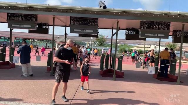 Disney World reopening in Florida