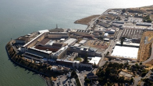 San Quentin State Prison in California has seen a major outbreak of coronavirus. (AFP)