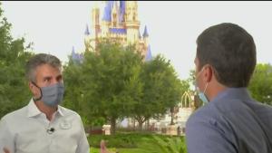 Walt Disney World opens its doors in Florida