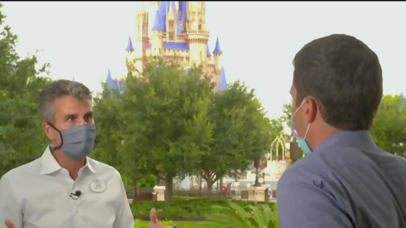 Walt Disney World opens its doors in Florida