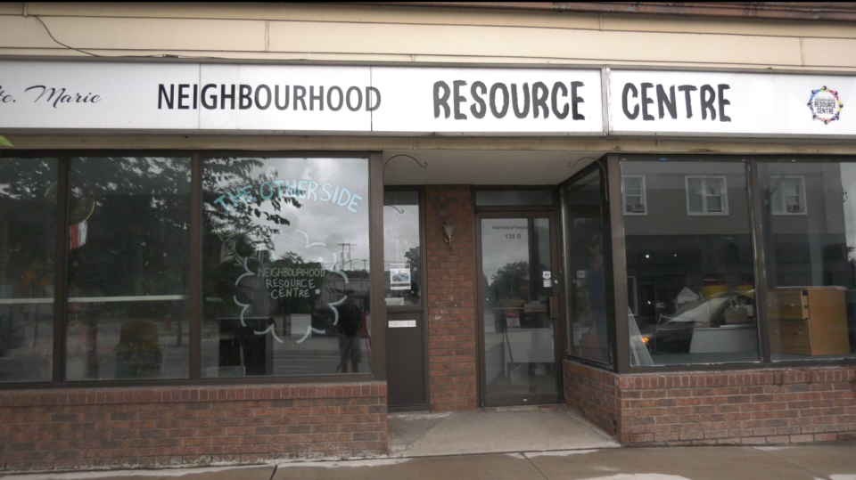 The Neighbourhood Resource Centre in the Sault.