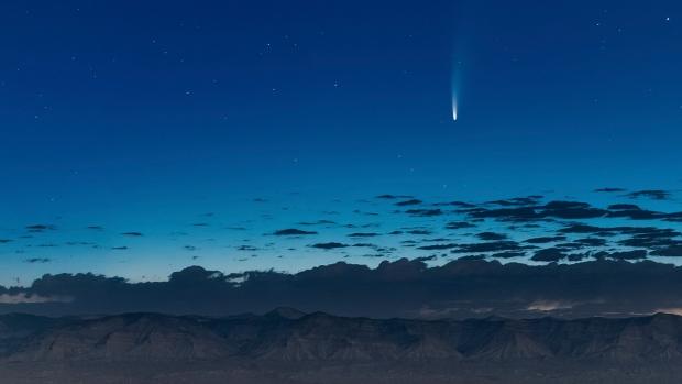 Photographers around the world capture rare comet