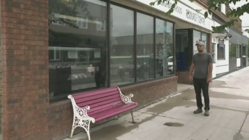Sault Ste. Marie's Neighbourhood Resource Centre closes its doors due to safety concerns. Watch Jairus Patterson's report.