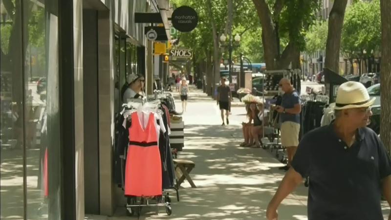 Saskatoon Sidewalk Sale continues