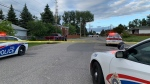 Sudbury police are investigating a shooting on Rita Street in the Valley (Alex Lamothe/CTV Northern Ontario)