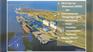The Churchill Marine Observatory is set to finish construction soon. (Source: U of M)