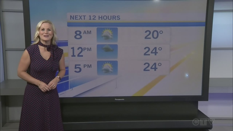 CTV Morning Live Weather July 13