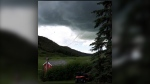 CTV News viewer Darlene photographed a funnel cloud near William's Coulee, southwest of Nanton, Alta., on July 12
