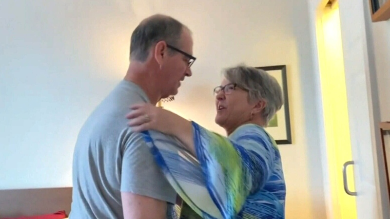Woman gets job at care home to see husband during
