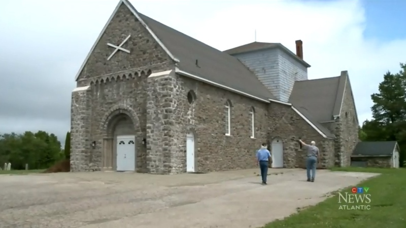 Built in 1929, St. Andrew's Catholic Church in Boisdale, N.S., is nearly a century old.