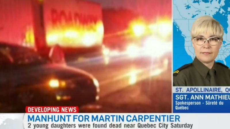Manhunt intensifies for Martin Carpentier